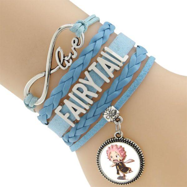 2016 Multicouche Tresse Bracelets Fairy Tail Charme Bracelet Tisse Bracelet En Cuir et Bracelet 3 704d7a79 a963 4fbb a58d 1327d0bb8dfe Bracelet Fairy Tail Multi-Rangs En Cuir Avec Pendentif (6 Motifs) - Livraison Gratuite !