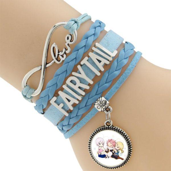 2016 Multicouche Tresse Bracelets Fairy Tail Charme Bracelet Tisse Bracelet En Cuir et Bracelet 4 2103cc07 c0b6 4ff6 b6c4 098300be7c00 Bracelet Fairy Tail Multi-Rangs En Cuir Avec Pendentif (6 Motifs) - Livraison Gratuite !