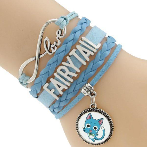 2016 Multicouche Tresse Bracelets Fairy Tail Charme Bracelet Tisse Bracelet En Cuir et Bracelet 5 ea93a2dd ebfb 41ba 9830 8a07283bb0ee Bracelet Fairy Tail Multi-Rangs En Cuir Avec Pendentif (6 Motifs) - Livraison Gratuite !