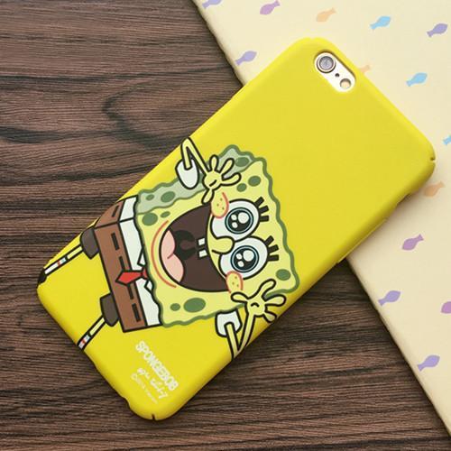 2016New arrivent Meilleur Ami SpongeBob Patrick De Protection Phone Case Cover fundas capa coque Pour Apple 4 5f641a61 69b2 4461 94ed fd8c707d4543 Coque Bob L'éponge Pour Iphone (4 Couleurs) - Livraison Gratuite !