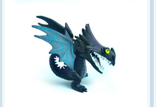 2017 7 Pcs Comment Dresser Votre Dragon Mini Figure Nuit Fury Eacute 1 96661204 dda6 4b6c 9a15 fce2a1ae39b6 1 Lot De 7 Mini Figurines Comment Dresser Votre Dragon - Livraison Gratuite !