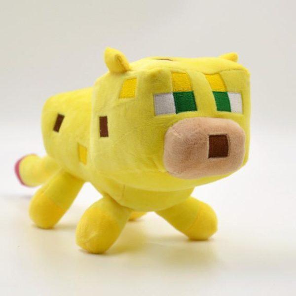 24 cm Minecraft Jouets En Peluche Jaune Minecraft Ocelot Chat En Peluche Animal En Peluche Jouets.jpg 640x640 631fe047 26d2 4ee3 a5a6 52774acc89f4 Peluche Ocelot (24 Cm) Minecraft- Livraison Gratuite !
