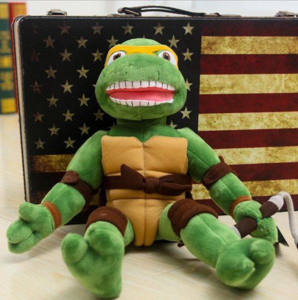 28 cm 40 cm Japon Teenage Mutant Ninja Turtles Action Figure Jouets Mignon TMNT Ninja Turtles 1 5ab1d7c9 f3eb 4af0 920c f5d7a7d56f16 Peluche Les Tortues Ninja 28 Cm (4 Couleurs) - Livraison Gratuite !