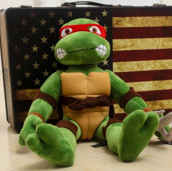 28 cm 40 cm Japon Teenage Mutant Ninja Turtles Action Figure Jouets Mignon TMNT Ninja Turtles dc4d3e85 d620 4c53 b76b c1a07dfc63e7 Peluche Les Tortues Ninja 28 Cm (4 Couleurs) - Livraison Gratuite !
