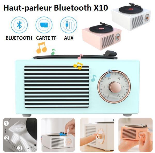 2 02b17750 dfc4 4fed 80ec 12e289673e9e Enceinte Bluetooth Tourne-Disque Vintage