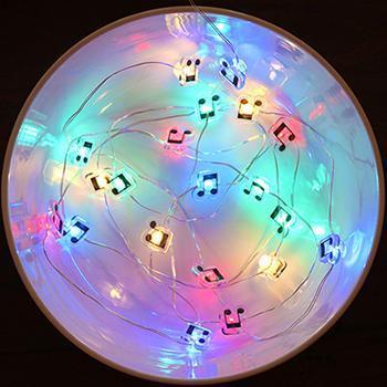 Guirlande Note De Musique Accessoire Raton Malin Multicolore