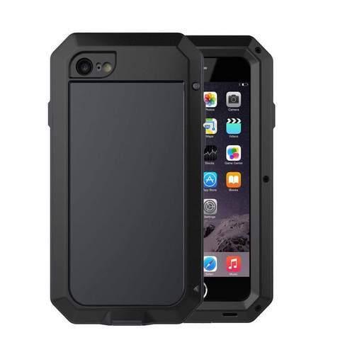 Coque de Protection Ultra résistante pour iPhone raton-malin Noir iphone 5 5S SE