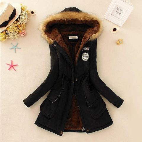 Superbe manteau pour femme 2019 Minute Mode Noir L