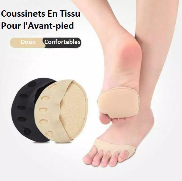 3 ea0cc998 4f10 4160 ba69 2a973db0f956 Coussinets En Tissu Pour L'avant-Pied (Lot De 2)