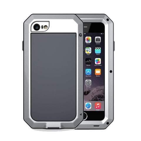 Coque de Protection Ultra résistante pour iPhone raton-malin Argent iphone 5 5S SE