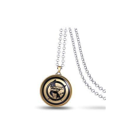 4 43713525 8158 4f36 8269 69cd65f2603c Collier Avec Logo Rotatif Hunger Games (4 Couleurs) - Livraison Gratuite !