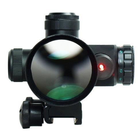 4 large 06186218 32db 4519 908c 49deee809792 B-Tac 2.5-10X40 Predator - Optique À Laser Avec Support