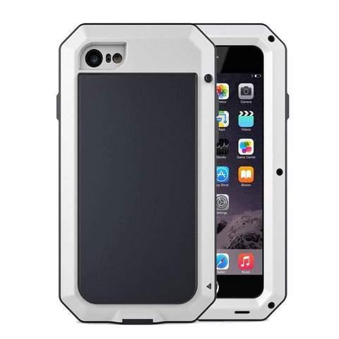 Coque de Protection Ultra résistante pour iPhone raton-malin Blanc iphone 5 5S SE