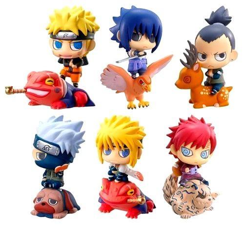 510L6LqDgAL 1368a6a7 7b17 4573 9172 12cc829f65fb 1 Lot De 6 Figurines Naruto 5 Cm (2 Versions) - Livraison Gratuite !