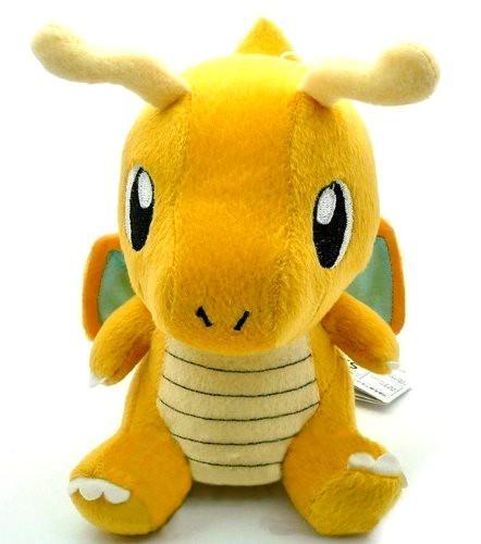515yBO7ANML Peluche Dracolosse (15Cm) Pokemon - Livraison Gratuite !
