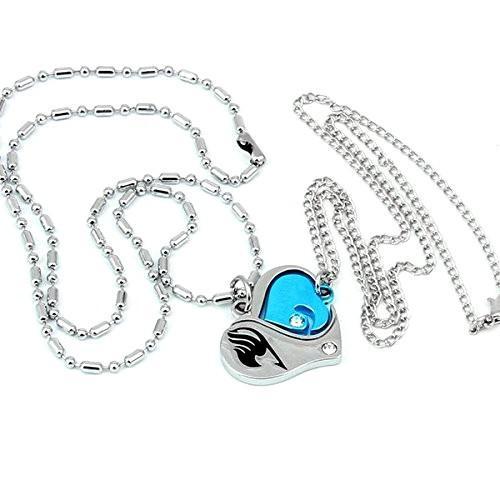 51O4wPeV QL Colliers Cœur Couple Fairy Tail - Livraison Gratuite !