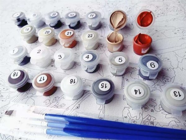 54405468 563478494137444 5817541496013848576 n Peinture Chat Multicolore