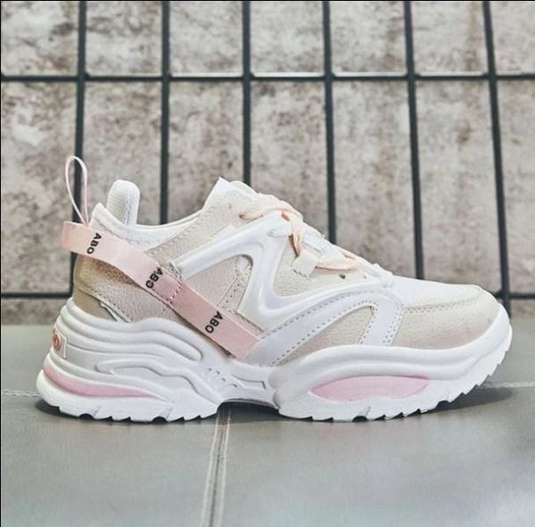 Baskets Respirantes CHUNKY Minute Mode Rose 35