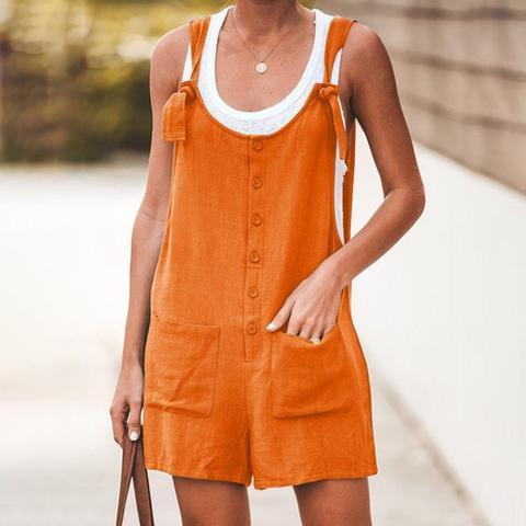 Combishort Style Bohème Minute Mode Orange L