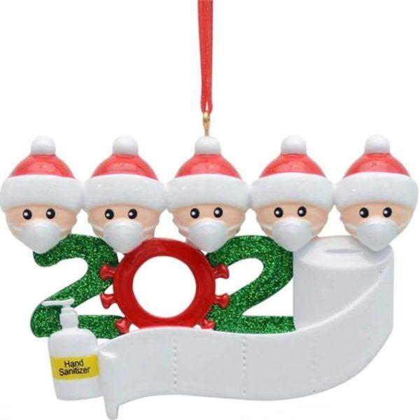 Décoration Sapin de Noel Originale Flash Ventes Famille de 5