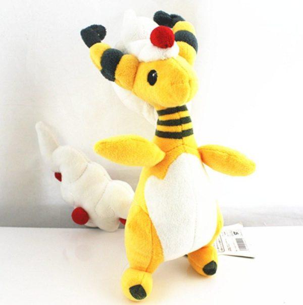5pcs set Pokemon Center Mega Ampharos Stuffed Plush Toy 8855fc2f 9fb4 4e91 aecf a9d380b38a4b Peluche Ampharos (28 Cm) Pokemon - Livraison Gratuite !