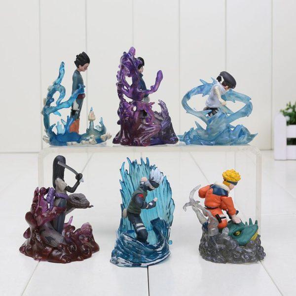 6 Pcs ensemble 7 cm Naruto Action Figure Nouveau Orochimaru Rock Lee Neji Sasuke Gaara Shikamaru 1 Lot De 6 Figurines Rock Lee - Neiji - Sasuke - Kakashi - Orochimaru - Naruto - Livraison Gratuite !