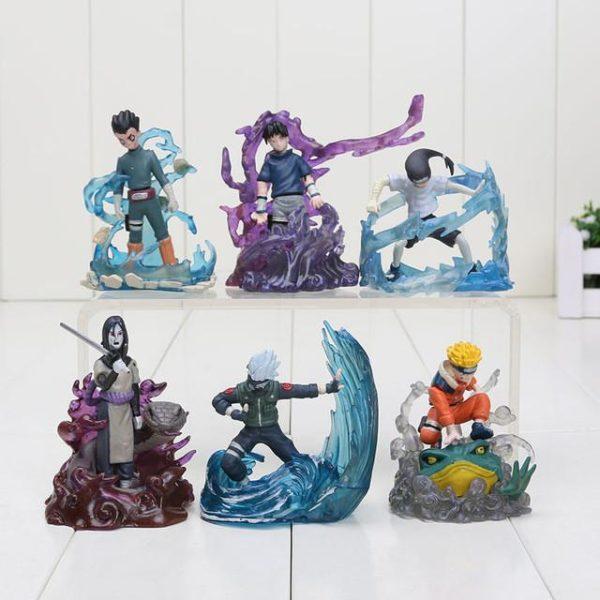 6 Pcs ensemble 7 cm Naruto Action Figure Nouveau Orochimaru Rock Lee Neji Sasuke Gaara Shikamaru.jpg 640x640 bf130911 ec83 4b03 9742 69350623c258 1 Lot De 6 Figurines Rock Lee - Neiji - Sasuke - Kakashi - Orochimaru - Naruto - Livraison Gratuite !
