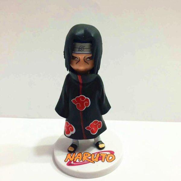 6 pcs ensemble Anime Naruto Sasuke Shikamaru Sasori Deidara Itachi Uzumaki Naruto PVC Figure Figurines Jouets 3 1 Lot De 6 Figurines Sasuke Shikamaru Sasori Deidara Itachi Uzumaki Naruto - Livraison Gratuite !