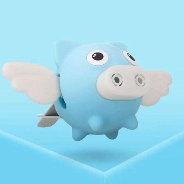 Diffuseur de Voiture Fée Cochon Aromathérapie Raton Malin Bleu