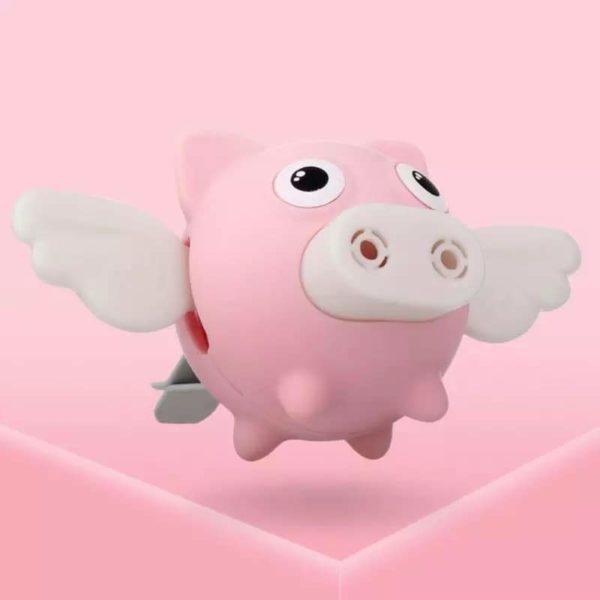 Diffuseur de Voiture Fée Cochon Aromathérapie Raton Malin Rose