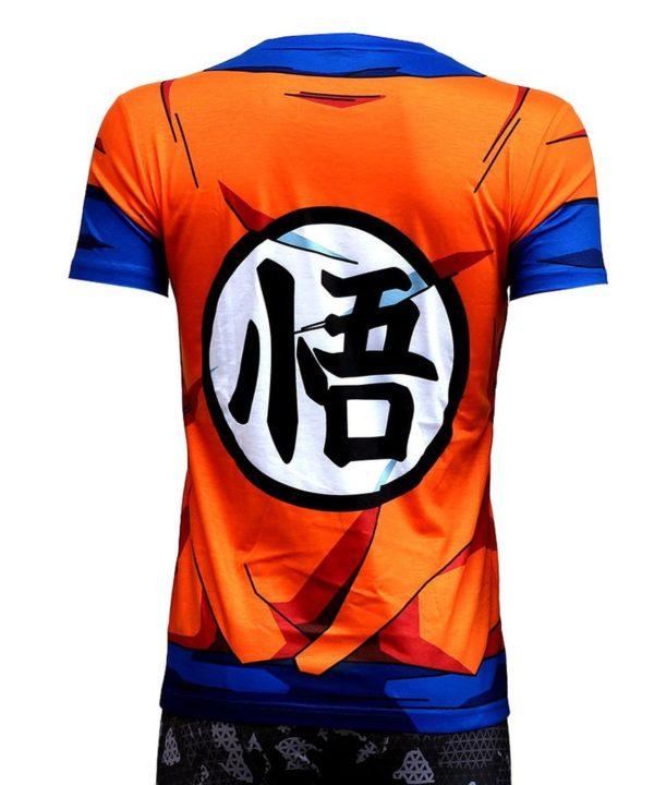 61opxAXROYL. UL1500 74256497 4864 4ec1 9382 68322150b192 T-Shirt Art Martiaux San Goku Dragon Ball Z - Livraison Gratuite !