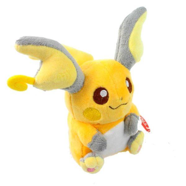 61yjpMXgH5L. SL1001 be2c9ccc 80e1 4b5f a03e e958dcb364ca Peluche Raichu (14Cm) Pokemon - Livraison Gratuite !