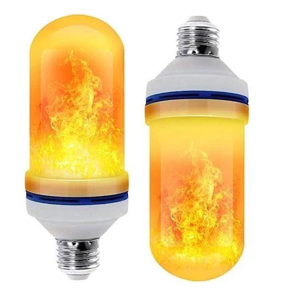 Ampoule LED Effet de Flamme Halloween Raton Malin