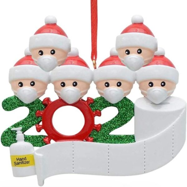 Décoration Sapin de Noel Originale Flash Ventes Famille de 6