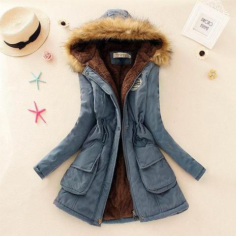 Superbe manteau pour femme 2019 Minute Mode Denim L