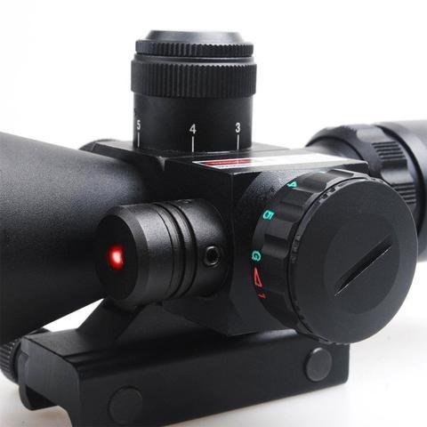 6 large b0459a9d 26f9 49e3 9d83 c77ab7efdc5d B-Tac 2.5-10X40 Predator - Optique À Laser Avec Support
