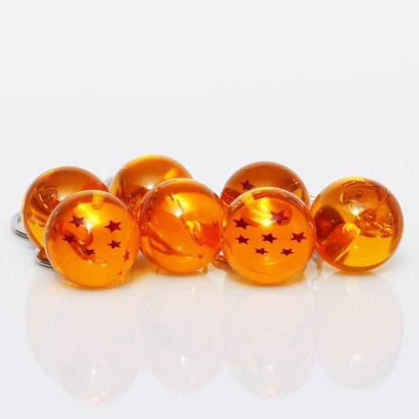 7 pcs set Dragon Ball Z 1 2 3 4 5 6 7 boules de cristal 1 1 Lot De 7 Porte-Clés Boule De Cristal Dragon Ball Z - Livraison Gratuite !