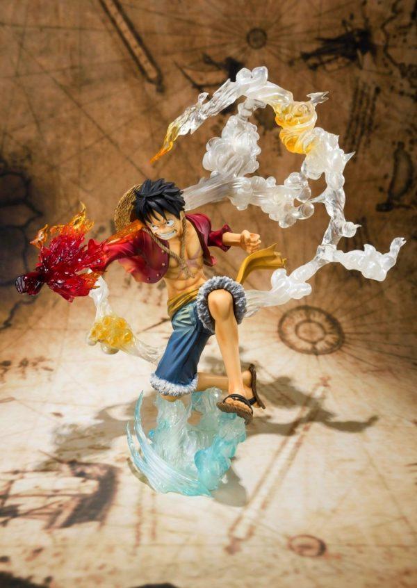 713X3S6D BL. SL1500 Figurine Luffy Battle Version One Piece - Livraison Gratuite !