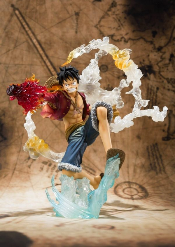 71RNEGPlFsL. SL1500 Figurine Luffy Battle Version One Piece - Livraison Gratuite !