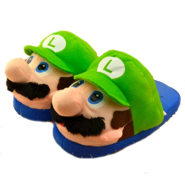 71VIcFu fVL. UL1500 3dfeda49 35cf 4548 8b5e 181c5543bd2d Pantoufles Adulte Mario/Luigi Super Mario - Livraison Gratuite !
