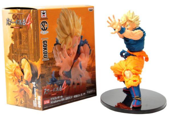 71g Jza nKL. SL1500 44e71f26 3d6d 4ca6 8452 60061425f2ec Figurine Super Saiyan San Goku Kamehameha (17Cm) Dragon Ball Z - Livraison Gratuite !
