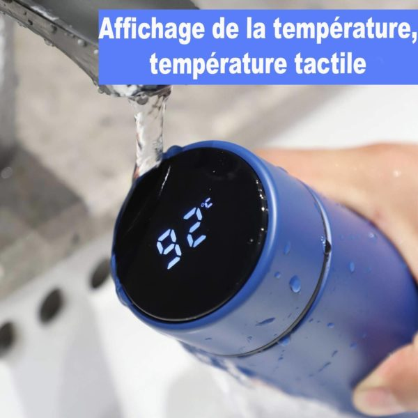 777 Bouteille Thermo Isotherme Avec Affichage De Température