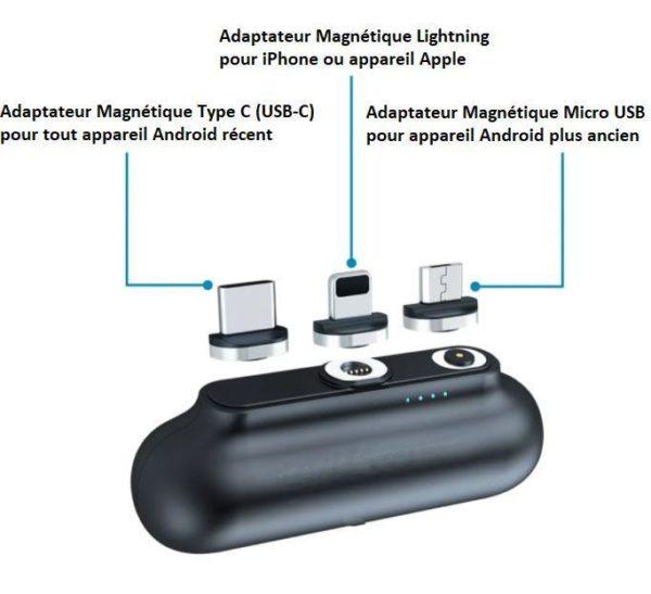 7 06b3e6c3 f31a 416a 964f 3abd72ccdff3 Mini Chargeur Magnétique - Phonecare™