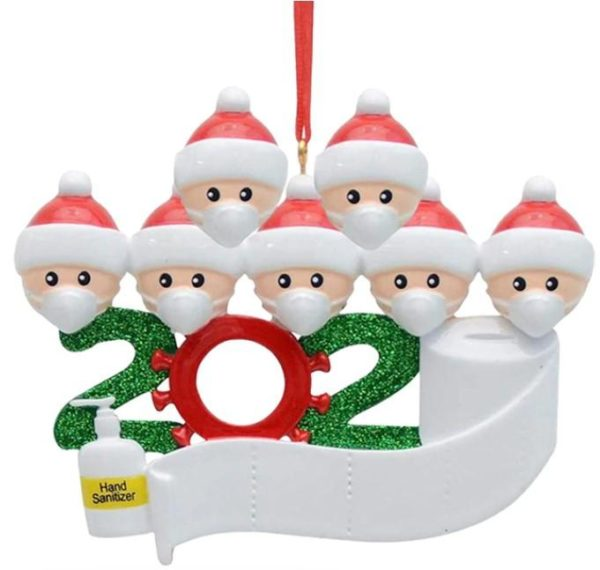 Décoration Sapin de Noel Originale Flash Ventes Famille de 7