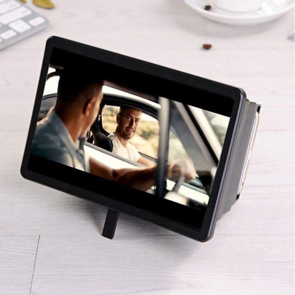 Amplificateur D'écran Universel 3D Portable Raton Malin Noir