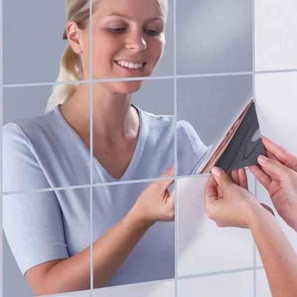 Stickers Miroirs Muraux - 9/16pcs Raton Malin