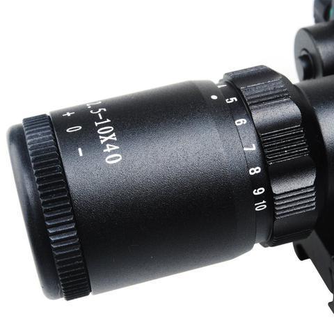 7 large 2dad20cd 16ab 4948 bbd6 4c68a3ecc47d B-Tac 2.5-10X40 Predator - Optique À Laser Avec Support