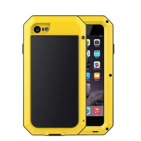 Coque de Protection Ultra résistante pour iPhone raton-malin Jaune iphone 5 5S SE