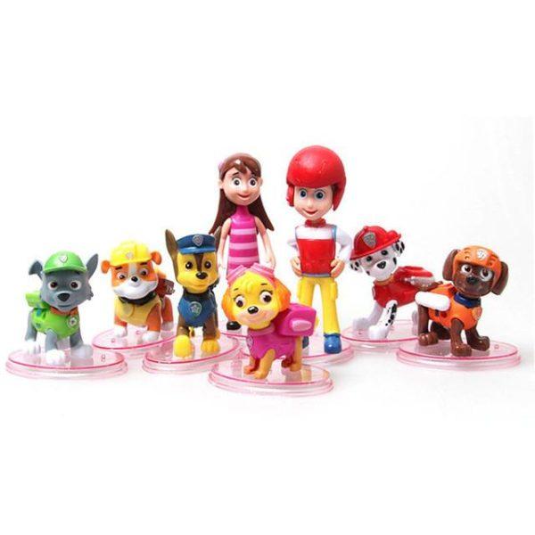 8 Pcs lot mini beau Dessin Anime Chiffres Jouets Patrouille Chiot chien Poupee Action figure modele.jpg 640x640 44094f49 aee6 4954 99e2 57e981835fbc 1 Lot De 8 Figurines Pat' Patrouille - Livraison Gratuite !