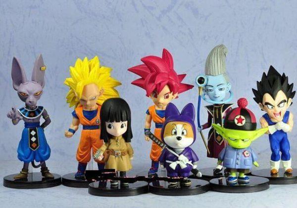8 pcs Dragonball Z Dragon ball DBZ Goku Q de Bande Dessinee Modele Jouets Compatible Action.jpg 640x640 f26ac6e1 5176 4e90 b3e0 302ebdd6f05a 1 Lot De 8 Figurines Dragon Ball Z - Livraison Gratuite !